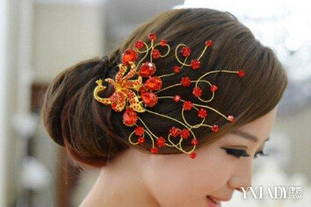 【图】短发中式新娘发型欣赏图片