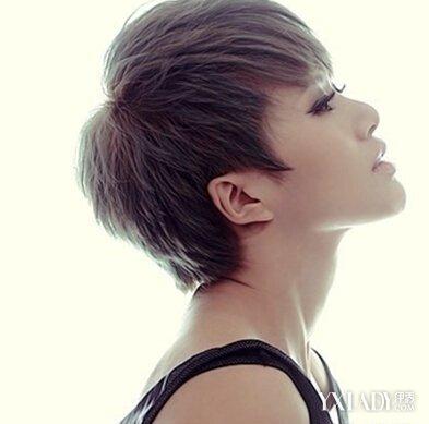 【图】女生短直碎发发型图片 清爽短发助你显露别致的