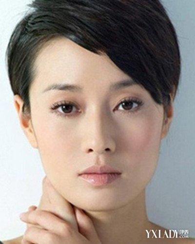 马伊俐发型图片短发欣赏 干练短发凸显成功气质