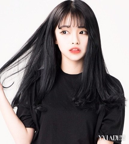 【图】韩版小清新长发发型图片 时尚发型打造你的小清新气质图片