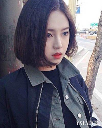 【图】韩范头像女学生合集短发女生短发v头像女生发型头空气刘海显脸小图片