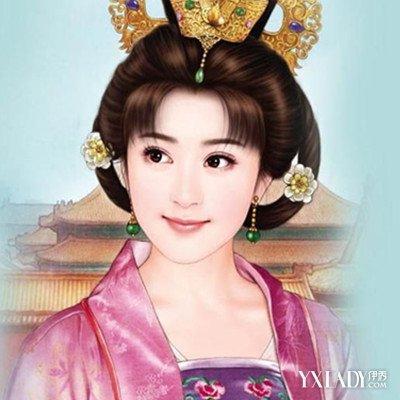 发型 流行发型 正文  古代少女发髻  发型与冠戴能增加女子仪容的俊美
