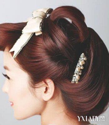 【图】古典发型简单扎法