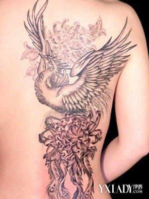 【图】纹身图案凤凰图片展示 为你介绍凤凰的价值意义