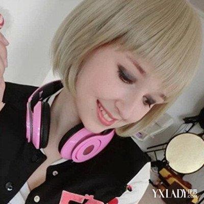 【图】原宿风短发女生发型精选 摩登的造型让你绝对吸