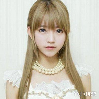 【图】长发侧脸女生头像发型设计 (400x400)
