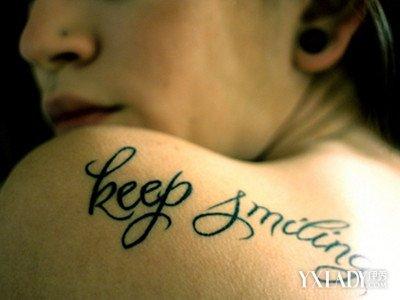 【图】女生后背英文纹身图片大全 了解纹身的种类和危害图片