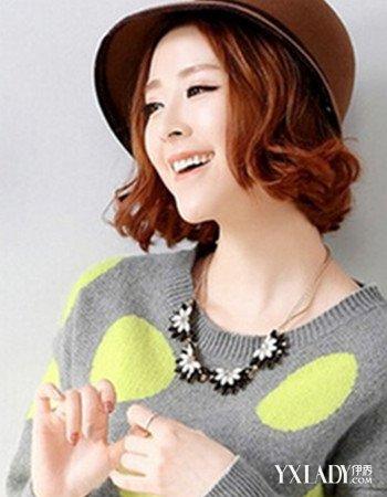 【图】韩范齐肩短发发型图片欣赏 打造甜美韩范儿图片