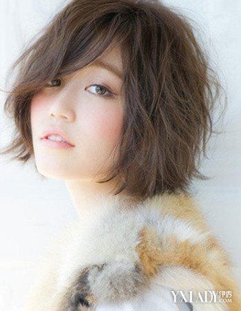 新发型图片女中短发烫发图片欣赏 4款发型更显甜美图片