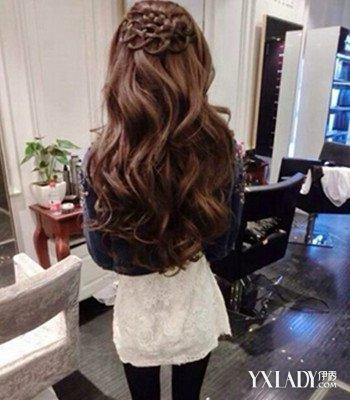 发型设计 背影女神 编发 > 【图】头像长发及腰背影欣赏    图片