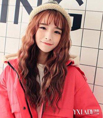 【图】韩国水发型烫发图片欣赏四款发型可爱复古上海滩波纹图片