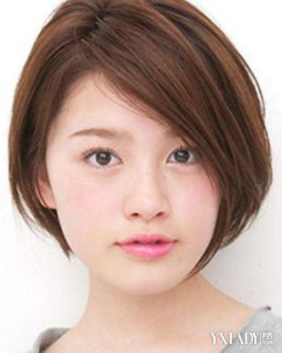 【图】微胖女生短发发型教学 教你利用发型修饰脸型