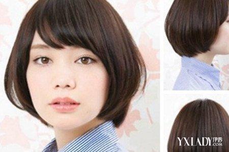 女生职业短发发型图片展示图片