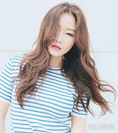 【图】韩版卷发发型图片中长发发型欣赏 四款教你打造