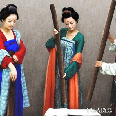 传统的汉服短发欣赏 展现传统服饰之美