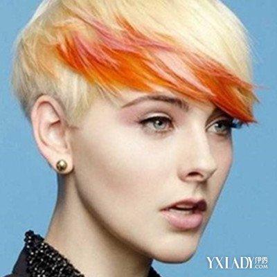欧美短发女生头像侧脸图片 4款极具个性范发型推荐图片