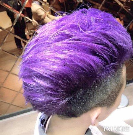 等到老師讓她 粉紫色頭發女生頭像,qq頭像 男生女生 彩色頭發女生頭像