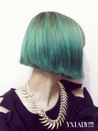 【图】鉴赏烟灰闷青色头发图