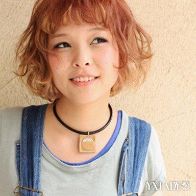 【图】发型齐耳盘发发型欣赏介绍不同脸型适短发女生双包图片