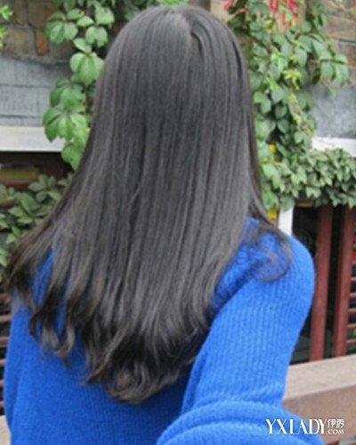 非主流女生背影长发发型分享 飘逸长发展现你的时尚甜美图片