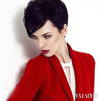 【图】高冷气质超短发女头像欣赏 个性短发打造霸气女王范