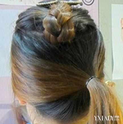 【图】学生编发图解 5个步骤教你如何扎出好看的头发