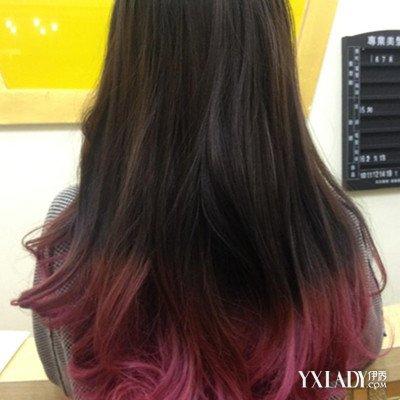 黑直发挑染头发图片欣赏 8点让你染出好看的头发图片