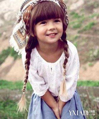 【图】幼儿编发发型图片 让小女孩显得更加时尚可爱