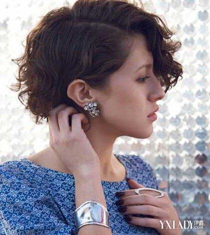 【图】齐肩短发烫卷发发型推荐 展现不一样的迷人魅力图片