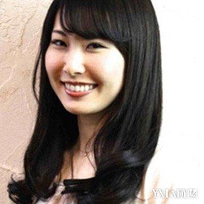 【图】黑发烫发发型图片大全图片