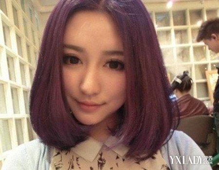【图】圆脸短直发发型图片展示 打造俏皮可爱