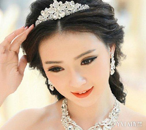 中长发皇冠新娘发型分享展示