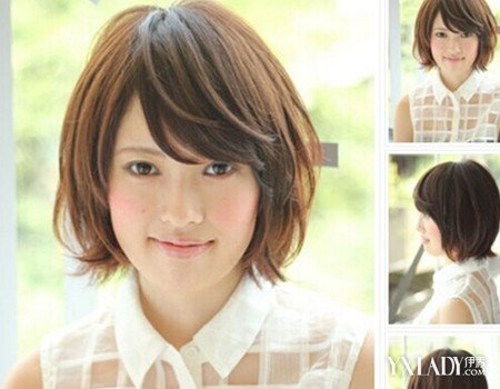 适合脸圆的女生发型图片展示 了解圆脸适合的发型图片