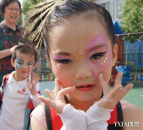 【图】儿童演出妆容图片 9步画法教你画出可爱精灵