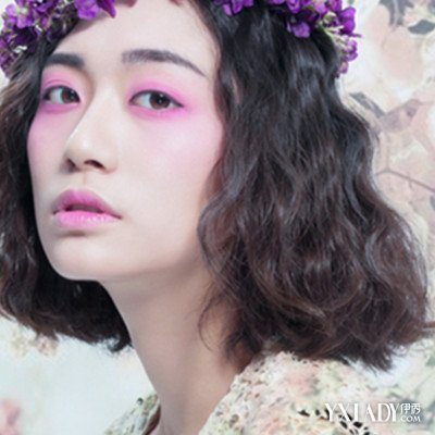 【图】韩式中短发新娘造型设计 短发发型也美腻