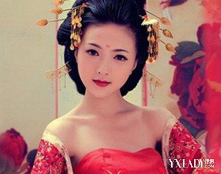 【图】收集新娘古装发型图片 演绎十足的古典韵味图片