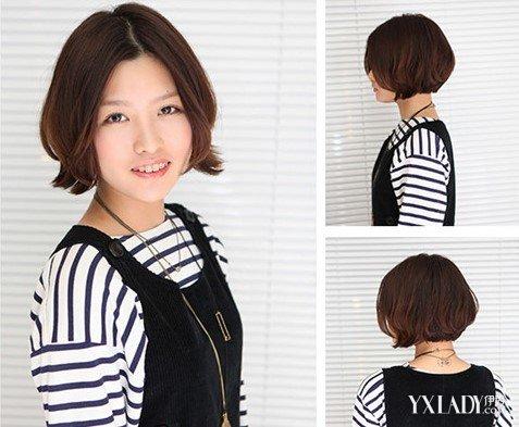 【图】短发女生图片小清新欣赏 发量少也不怕的四款短发推荐图片