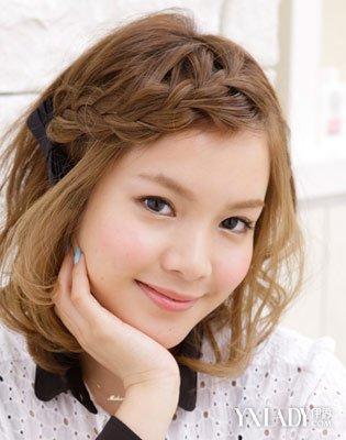 短发锡纸烫发型图片女欣赏 2012年新女生流行发型图片