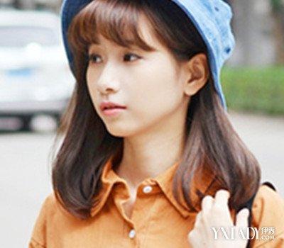 【图】空气刘海短发烫发图片欣赏 四款甜美发型总有一款适合你