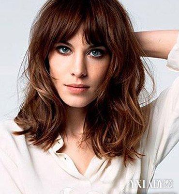 头发细软女生发型分享展示图片