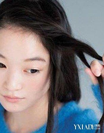 编头发花样步骤图片欣赏 让你变得更有气质