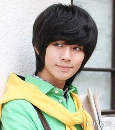 色调刘海时尚短发男四款发型韩式发型男生任深秋人头的颜色发图片图片