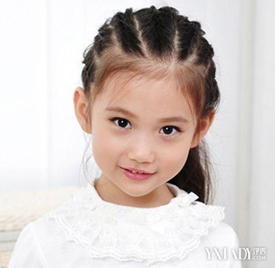 【图】时尚优雅小孩子头发的扎法 7种扎法让小孩变可爱图片