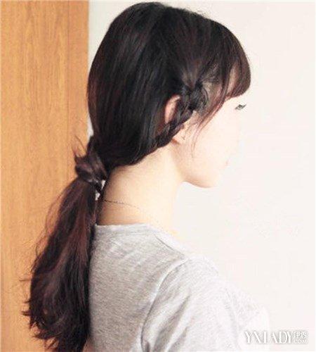 简单又好看的扎头发 8种款式一周无重复图片
