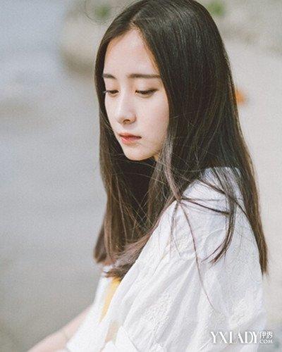 【图】侧脸头像女生长头发发型分享 减龄个性甜美