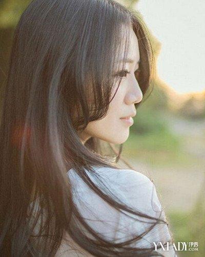 【图】侧脸头像女生长头发发型分享