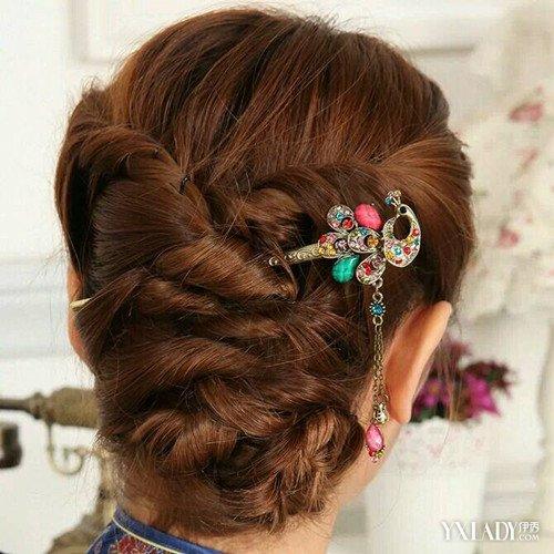 【图】发簪怎么用来挽头发 手把手教你如何用发簪挽出图片