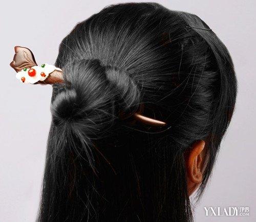 【图】发簪怎么用来挽头发图片