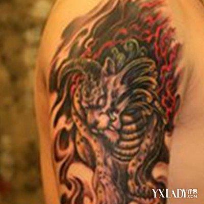 手臂麒麟纹身图案大全 解密手臂麒麟纹身