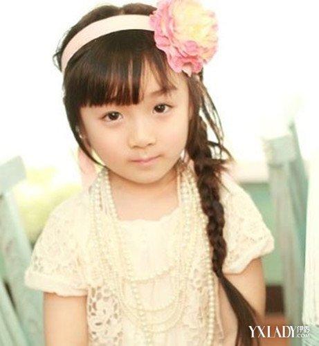 小孩时尚发型大全 时尚小女孩辫子编发图片
